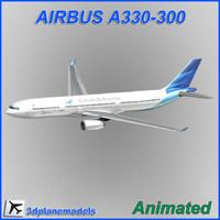 airbus a330-300 3d model