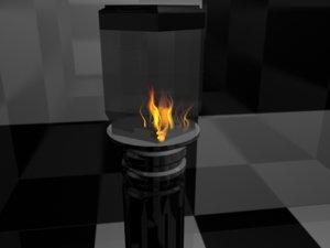 free lamp lampost post 3d model