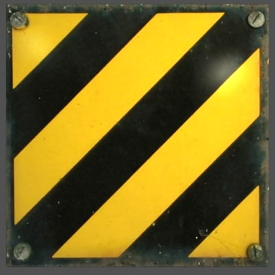 free max model caution stripe