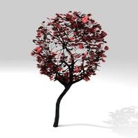 tree leaf 3d model