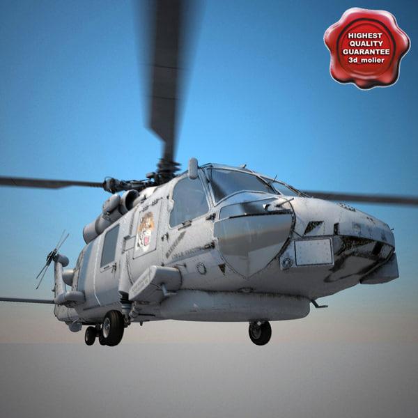 3d sikorsky sh-60 seahawk model