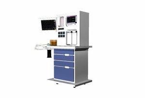 3d anesthesia cart