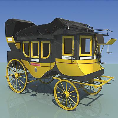camerlata carriage 3d model