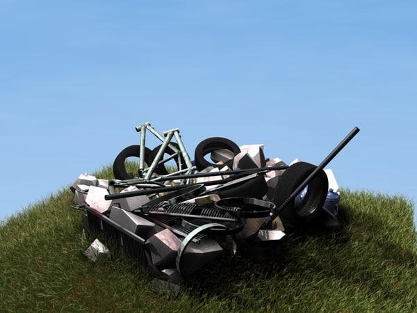 3d dump model