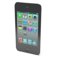 ipod touch apple 3d model