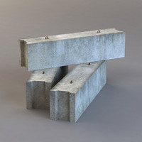 Concrete Block 1a