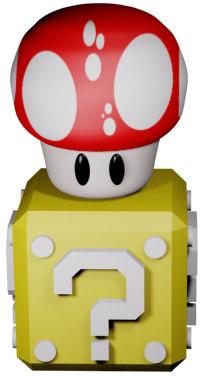 free max model mushroom box
