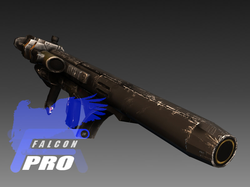 rpg 2020 rocket launcher 3d model