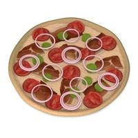 3d model pizza