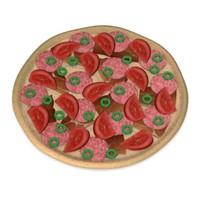 3d pizza model