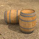 Wine Barrel (Wood)