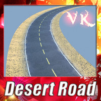 3d desert road resolution