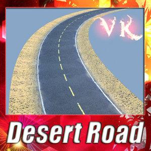 3d desert road resolution