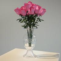 bouquet vase 3d model