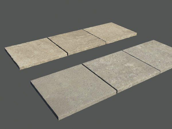 paving slabs 3d model