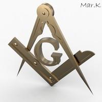 Square compasses