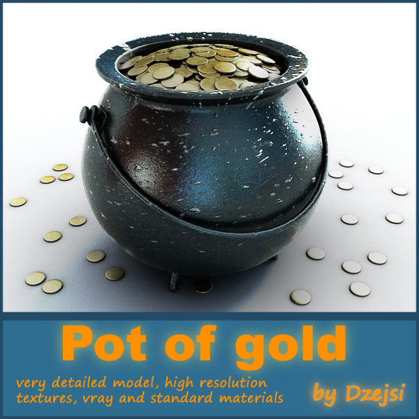 pot gold coins max