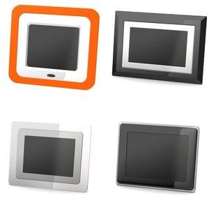 digital frames 3d model