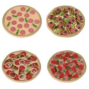 3d pizzas