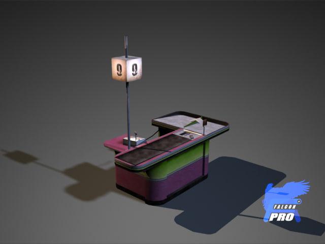 3d max cashbox ready