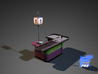 3d max cashbox ready