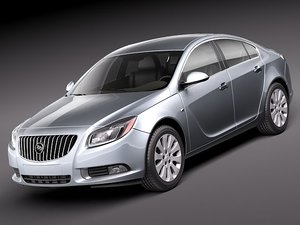 buick regal 2011 3ds