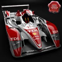 Audi R10 Race Car