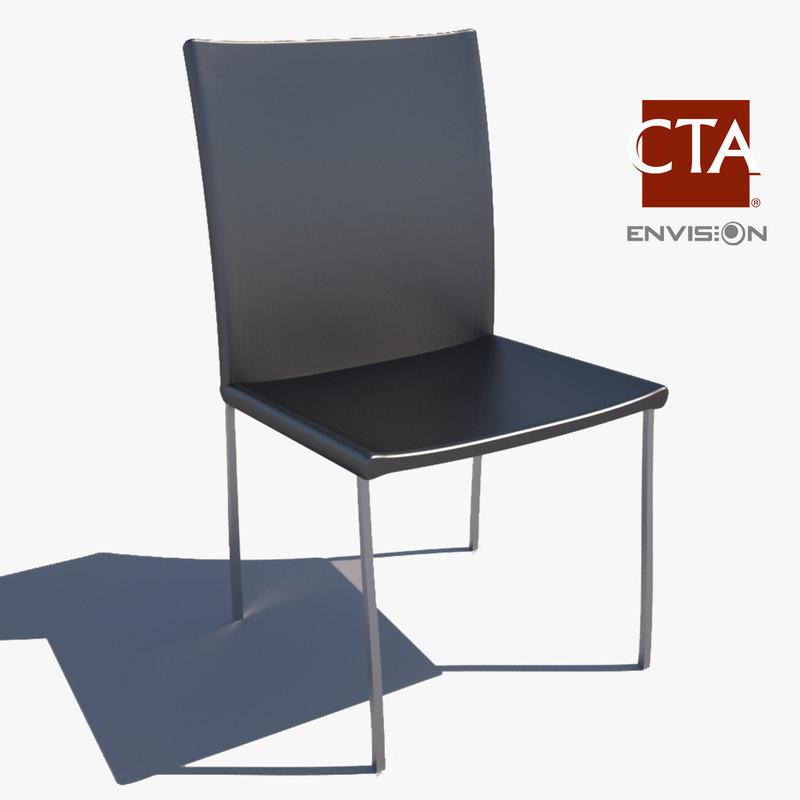 3d model dinning chair