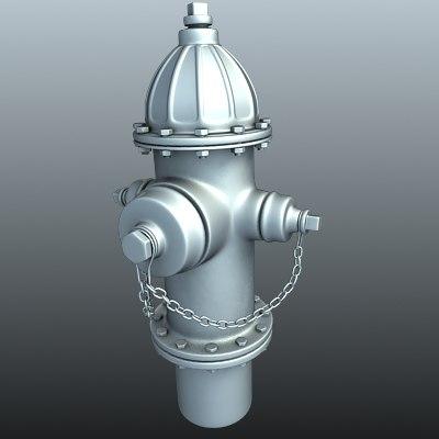 3dsmax hydrant street