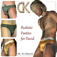 DK 01 - Realistic Sexy Panties for David