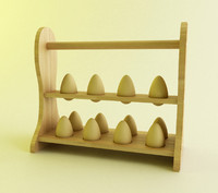 3ds max egg rack