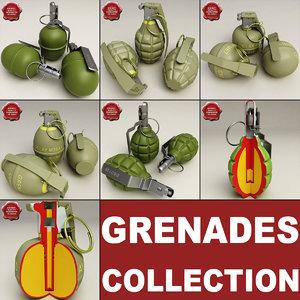 grenades v2 3d model
