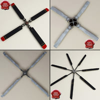 Helicopter Propellers Collection V3