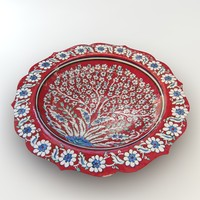 Traditional Hand Made Ornament Bowl 1