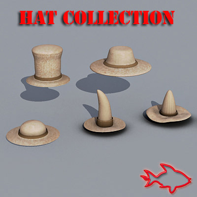 3ds max hats -