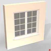 wall window 3d model