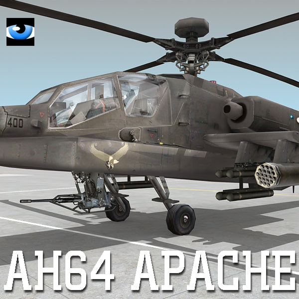 max army ah-64 apache attack helicopter