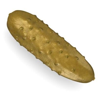 3d model cucumber