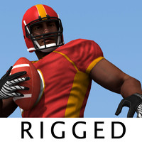 Football Player RIGGED