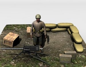 3ds ww2 military set 2