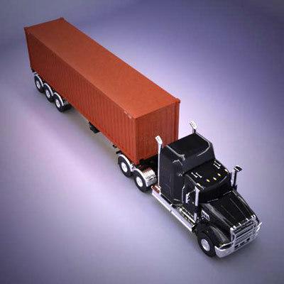 mack titan 3d model
