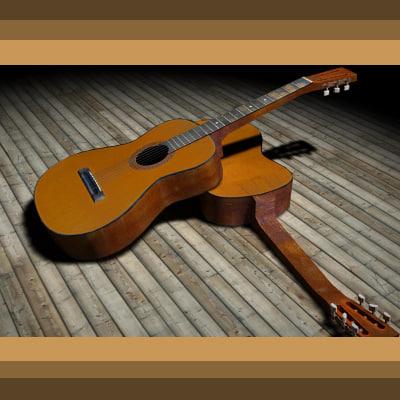 maya guitar real