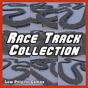 3d model race tracks