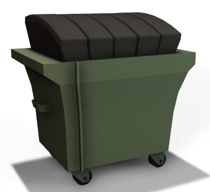 3dsmax dumpster