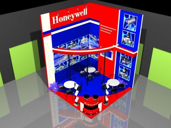max honeywell exhibition stand