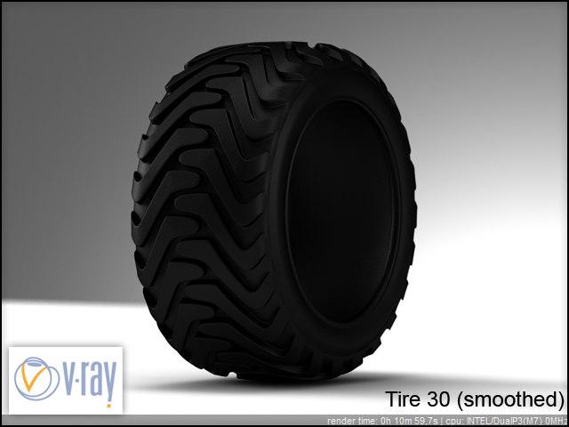 tire 30 3d model