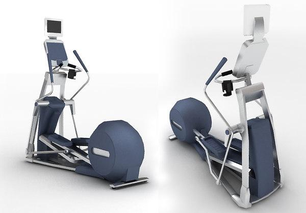 3d model low-poly body-builder efx576i