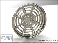 wheel 39 3d model