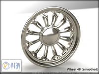 wheel 48 3d model