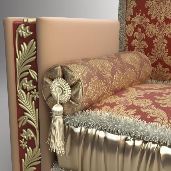 3d model platen pillow